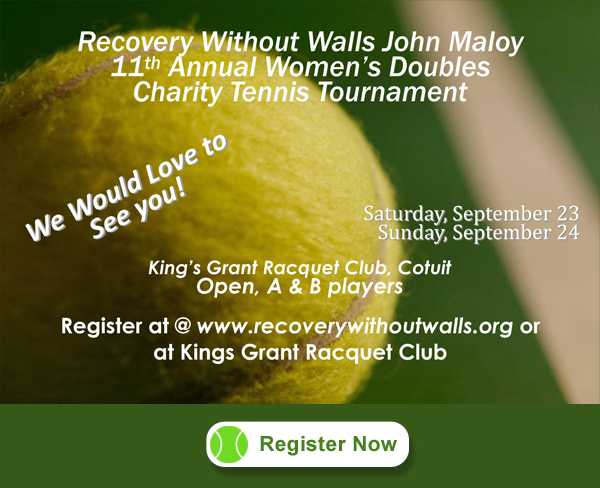 2017 Recovery Without Walls Tennis Tournament